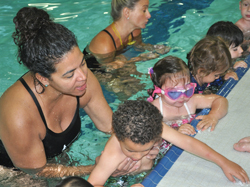 Preschool swim lessons