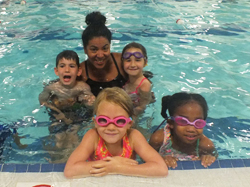 School age swim lessons