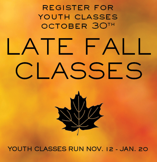 Late Fall Registration