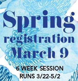 Spring I Registration March 9