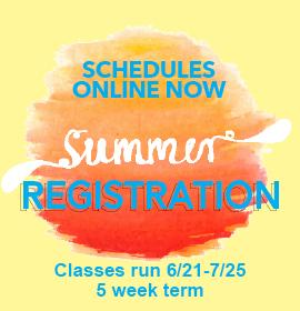 Summer Registration 6/8/21