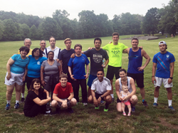 Walk/Run with the Fitness Center in Briant Park