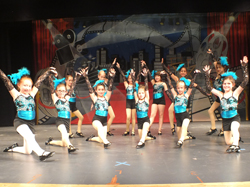 Dancers performing at the 2016 Connection Dance Recital