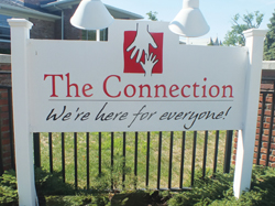 The Connection front sign