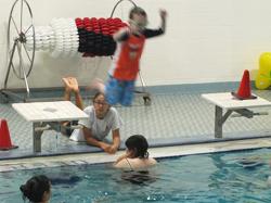 volunteer spotlight swim