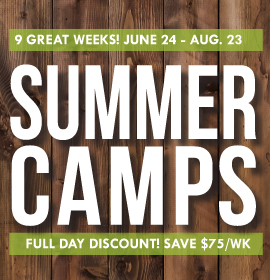 Summer Camp Full Day Discount