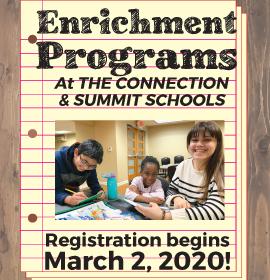 AfterSchool/Preschool Registration begins March 2