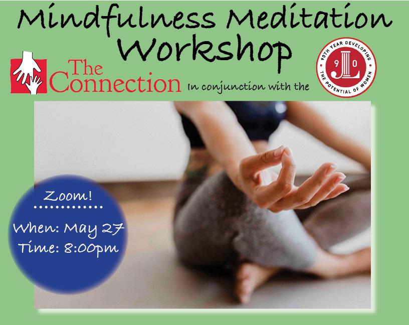 Mindful Meditation Workshop | May 27, 2020