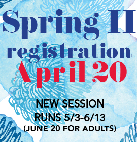 Spring II Registration April 20
