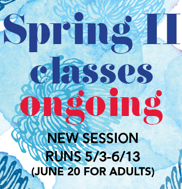 Spring II classes ongoing